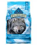Blue Wilderness Denali Dinner Dog Food- Grain Free, Gluten Free, Salmon, Venison And Halibut Size: 4-lb, Blue Buffalo