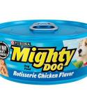 Mighty Dog Canned Rotisserie Chicken Canned Dog Food 5.5-oz Cans / Case Of 24
