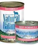 Natural Balance Ultra Premium Beef Canned Dog Formula 13-oz Cans / Case Of 12