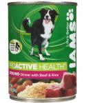 Iams Proactive Health Adult Ground Dinner With Beef And Rice Canned Dog Food
