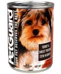 Petguard Turkey And Sweet Potato Stew In Gravy Canned Dog Food