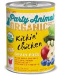 Party Animal Kickin Chicken Recipe Organic Canned Dog Food