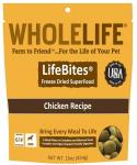 Whole Life Lifebites Grain Free Chicken Recipe Freeze Dried Superfood For Dogs