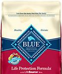Blue Buffalo Blue Life Protection Formula Adult Fish and Brown Rice Recipe Dry Dog Food
