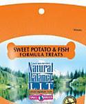 Natural Balance L.i.t. Limited Ingredient Treats Sweet Potato and Fish Formula Small Breed Dog Treats