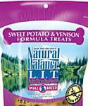 Natural Balance L.i.t. Limited Ingredient Treats Small Breed Sweet Potato and Venison Formula Dog Treats, 8-oz