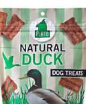Plato Duck Strips Dog Treats, 6-oz