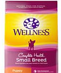 Wellness Complete Health Natural Small Breed Puppy Health Recipe Dry Dog Food, 4-lb