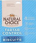 Nutro Natural Choice Chicken and Whole Brown Rice Recipe Adult Dog Tartar Control Biscuits