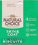 Nutro Natural Choice Healthy Skin And Coat Recipe Adult Dog Skin And Coat Biscuits, 32-oz Bag