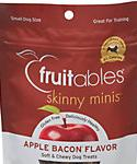 Fruitables Skinny Minis Apple Bacon Soft and Chewy Dog Treats