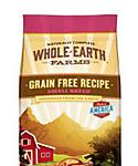 Whole Earth Farms Grain Free Small Breed Recipe With Chicken and Turkey Dry Dog Food, 4-lb