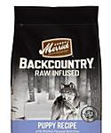 Merrick Backcountry Grain Free Raw Infused Puppy Dry Food, 12-lb