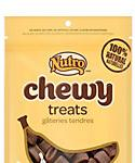 Nutro Chewy Treats With Real Bananas 100% Natural Treats For Dogs, 4-oz Bag
