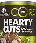 Wellness Core Natural Grain Free Turkey and Duck Hearty Cuts Dog, 12.5-oz, Case Of 12, 12 X 12.5-oz