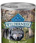Blue Buffalo Blue Wilderness Bayou Blend With Alligator and Catfish Canned Dog Food, 12.5-oz, Case Of 12