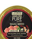 Canidae Grain Free Pure Petite Small Breed Escalloped Style Dinner With Salmon And Shrimp Wet Dog Food