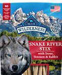 Blue Buffalo Blue Wilderness Snake River Grill Stix Dog Treats