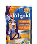 Solid Gold Fit and Fabulous Chicken, Sweet Potato and Green Bean Weight Control Grain Free Adult Dog Food With Superfoods, 4-lb