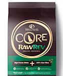 Wellness Core Rawrev Natural Grain Free Wild Game Duck, Lamb, Wild Boar and Rabbit W/ Freeze Dried Lamb Dry Dog Food, 18-lb