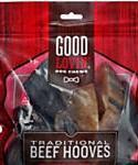 Good Lovin Traditional Beef Hoof Dog Chews, 14-lb