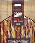 Good Lovin Pork Flavored And Chicken Wrapped Rawhide Dog Chew, Count Of 20, 4.2-oz