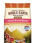 Whole Earth Farms Grain Free Small Breed Recipe With Salmon and Whitefish Dry Dog Food, 12-lb