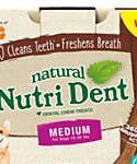 Nylabone Nutri Dent Limited Ingredients Medium Filet Mignon Dental Chews