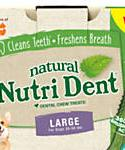 Nylabone Nutri Dent Limited Ingredients Large Fresh Breath Dental Chews