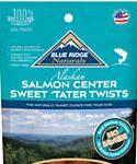 Blue Ridge Naturals Salmon Center Sweet Tater Twist Dog Treats