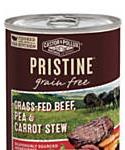 Castor and Pollux Pristine Grain Free Grass-fed Beef, Pea and Carrot Stew Wet Dog Food