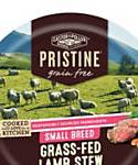 Castor and Pollux Pristine Grain Free Small Breed Grass-fed Lamb Stew Wet Dog Food