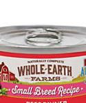 Whole Earth Farms Grain Free Small Breed Beef Dinner Wet Dog Food