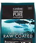 Canidae Grain Free Pure Ancestral Dog Dry Raw Coated Fish Formula With Salmon, Mackerel, and Pacific Whiting, 20-lb