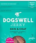 Dogswell Skin and Coat Jerky Grain-free Salmon For Dogs, 10-oz