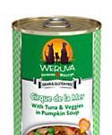 Weruva Classics Cirque De La Mer With Tuna and Vegggies In Pumpkin Soup Wet Dog Food, 14-oz, Case Of 12, 12 X 14-oz