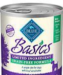 Blue Buffalo Blue Basics Grain-free Turkey and Potato Recipe Wet Dog Food, 12.5-oz, Case Of 12