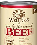 Wellness 95% Adult Canned Dog Food, Beef